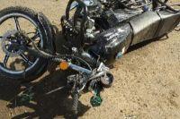 В Оренбургском районе в ДТП погиб водитель мопеда.