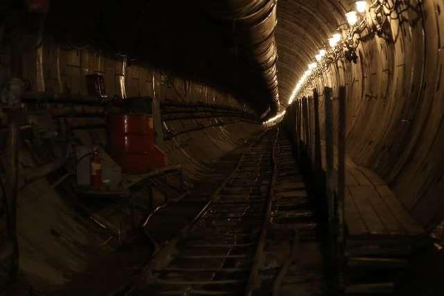 """Сейчас тоннели в районе станции """"Комсомольская площадь"""" выглядят так."""