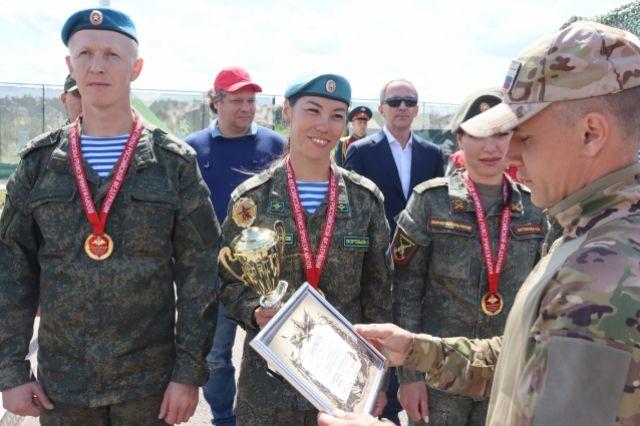 Завершился чемпионат ВС РФ по армейской тактической стрельбе