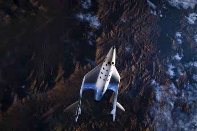 Компания Virgin Galactiс совершила успешный пилотируемый космический полет.