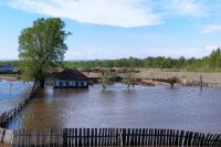Аал Маткетчик в Хакасии пострадал от паводка.
