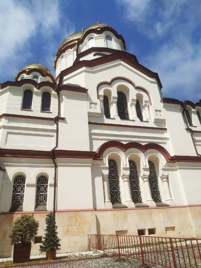 Абхазия. Новый Афон, 2021.