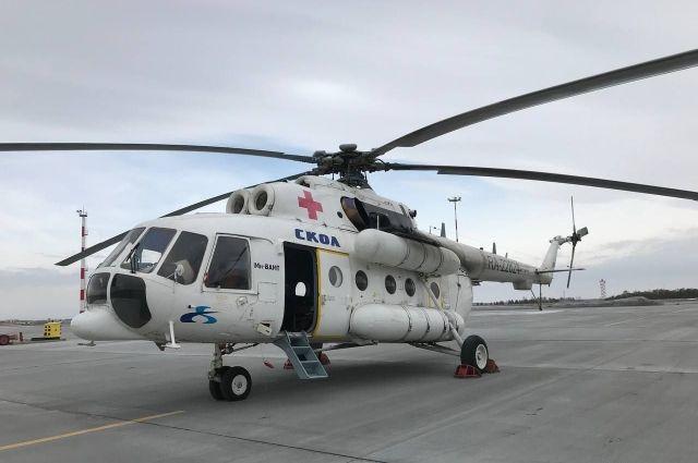 Ребенок с менингитом доставлен в Оренбург.