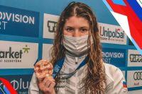 Оренбургская пловчиха Мария Каменева привезла с чемпионата Европы серебро и две бронзы.