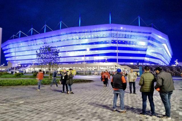 Стадион «Калининград» готовят к проведению матча Суперкубка России
