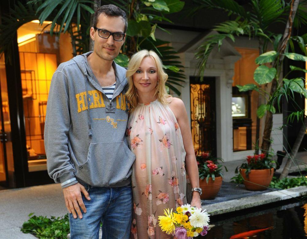 Кристина Орбакайте с мужем Михаилом Земцовым, 2012 год