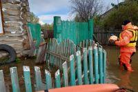 В зону подтопления  попали более 40 населённых пунктов.