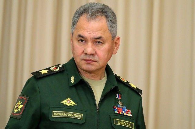 Сергей Шойгу, министр обороны.