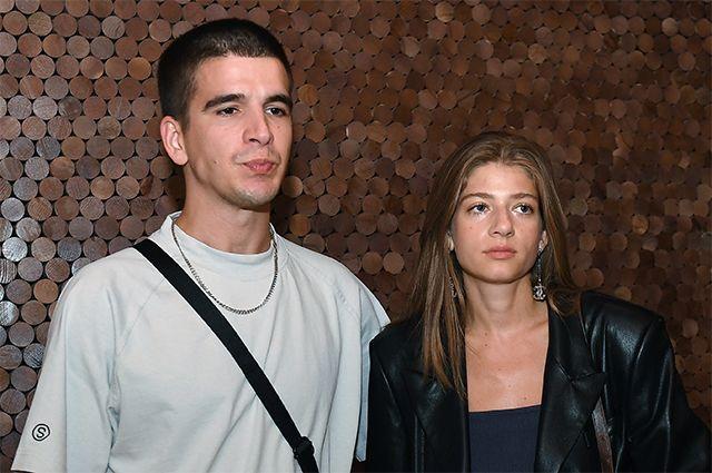 Рэпер Федор Инсаров (Feduk) и дочь ресторатора Аркадия Новикова Александра.