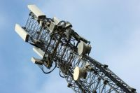 Новая вышка мобильной связи стандарте LTE.