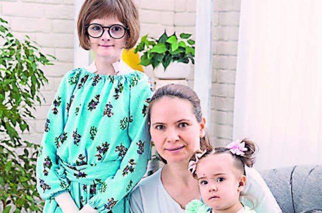 Сёстры-«бабочки» Софья иВарвара изсаратовского г. Балашова.