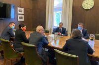 Ляшко и посол ЕС обсудили трансфер технологий для производства вакцин.