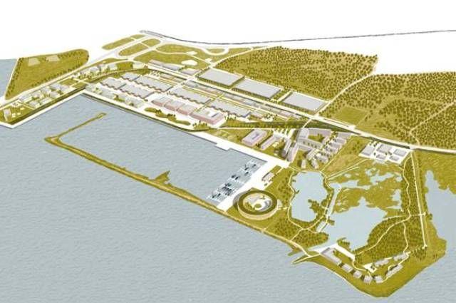 Новая «Горская». Промзону у Финского залива сделают экологичной