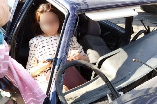 В Саракташском районе столкнулись два автомобиля.