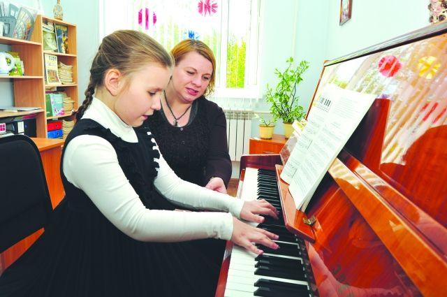 Ремонт детской школы искусств №1  имени Е.Ф. Куревлева проходит по национальному проекту «Культура».