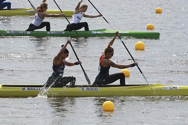 Спортсменки из Чили