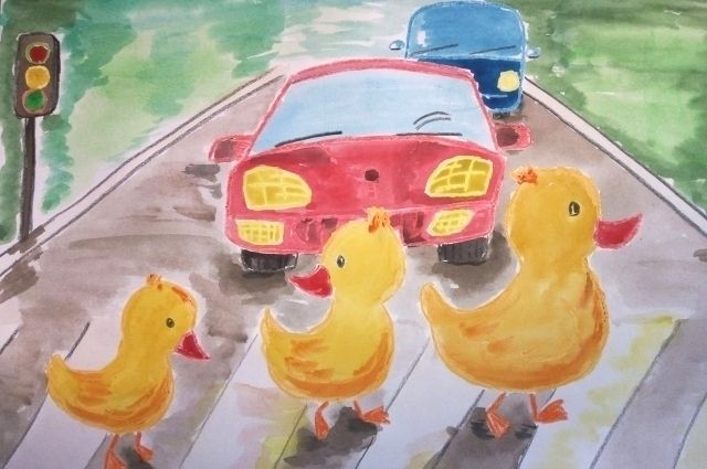 В Оренбуржье продолжается прием работ на конкурс «Мы за безопасные дороги».