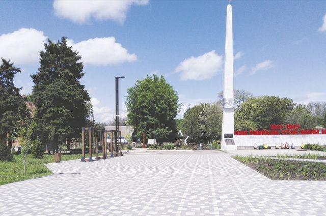 Площадь Ленина в Развильном сегодня не узнать.