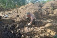 Около 500 останков обнаружили на месте, где раньше находился лагерь для женщин и детей.