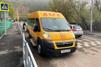В Красноярском крае ежедневно выходят на маршруты свыше  700 школьных автобусов.
