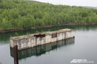 Работы по строительству ГЭС свернули в 1989 году из-за проблем с финансированием.