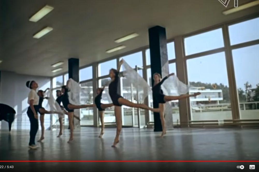 Репетиция артистов балета, «Орленок».