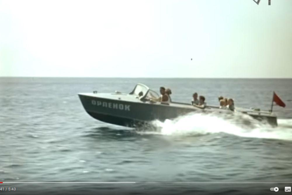 Морская прогулка. «Орленок», 1965 год.