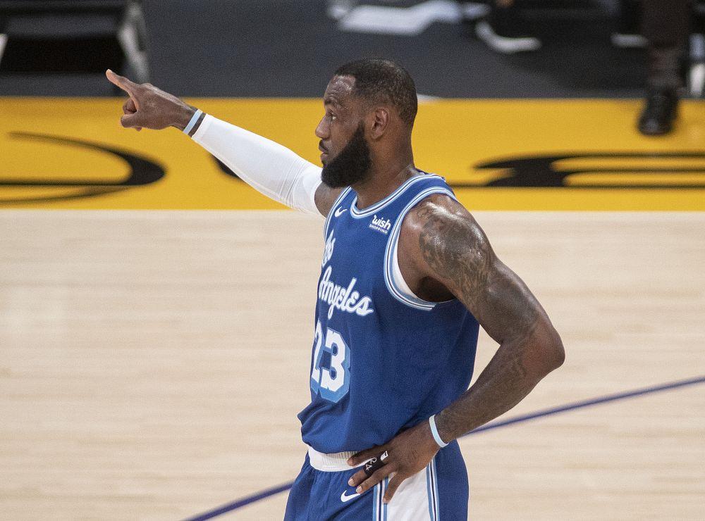 Баскетболист Джеймс Леброн — $96,5 млн