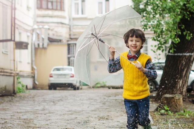 В южных районах Оренбуржья в пятницу пройдет небольшой дождь.