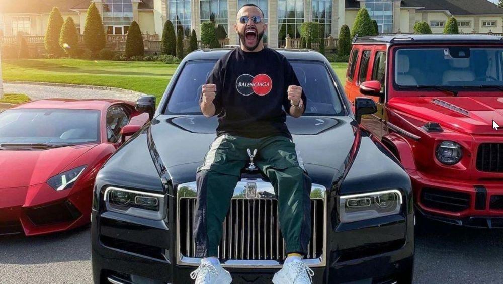 Гусейн Гасанов и его автомобиль Rolls-Royce Cullinan