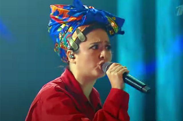 Певица прилетела в Дудинку прямо с Евровидения.