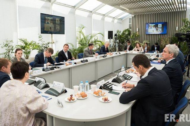 Новые меры поддержки и развития бизнеса войдут в программу партии на выборах в Госдуму.