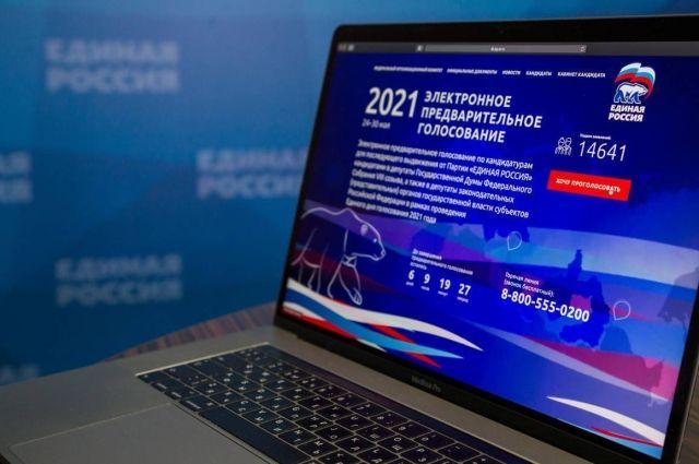 Почти 5 млн человек приняли участие в электронном предварительном голосовании «Единой России».