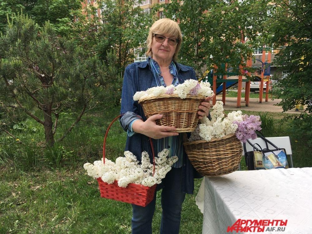 Праздник прощания с сиренью в Саду соловьёв.