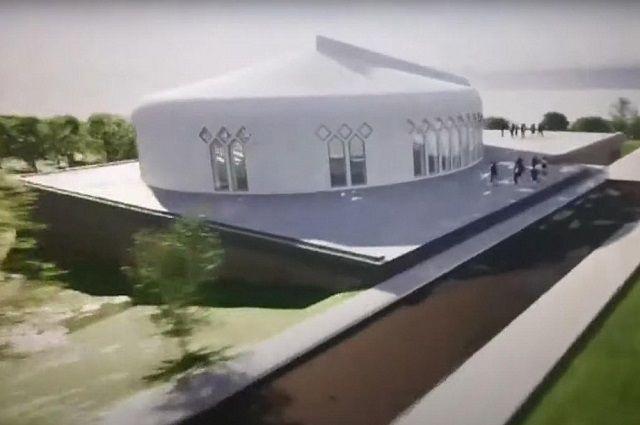 К юбилею Уфы построят Евразийскую библиотеку в виде юрты