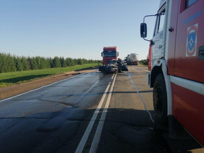 Смертельное ДТП в Можгинском районе 28 мая.