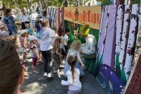 Тюменский театр кукол провел игровую программу ко Дню защиты детей
