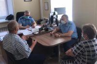 Зампрокурора Оренбургской области провел прием жителей Октябрьского района.