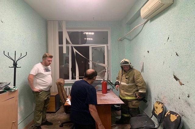 На праздновании дня химика фейерверк залетел в здание филиала БашГУ