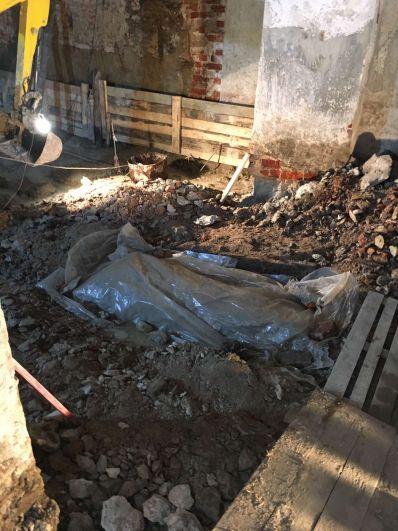 Спасская церковь, Тюмень - 2020. Обнаружены человеческие останки.