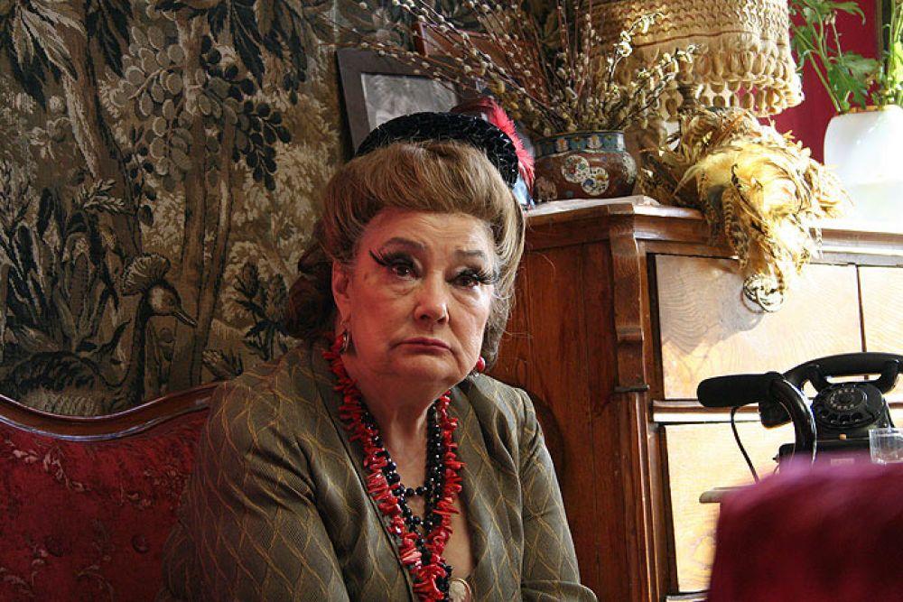 Актриса Татьяна Самойлова в роли Маргариты Ивановны (2008 год)