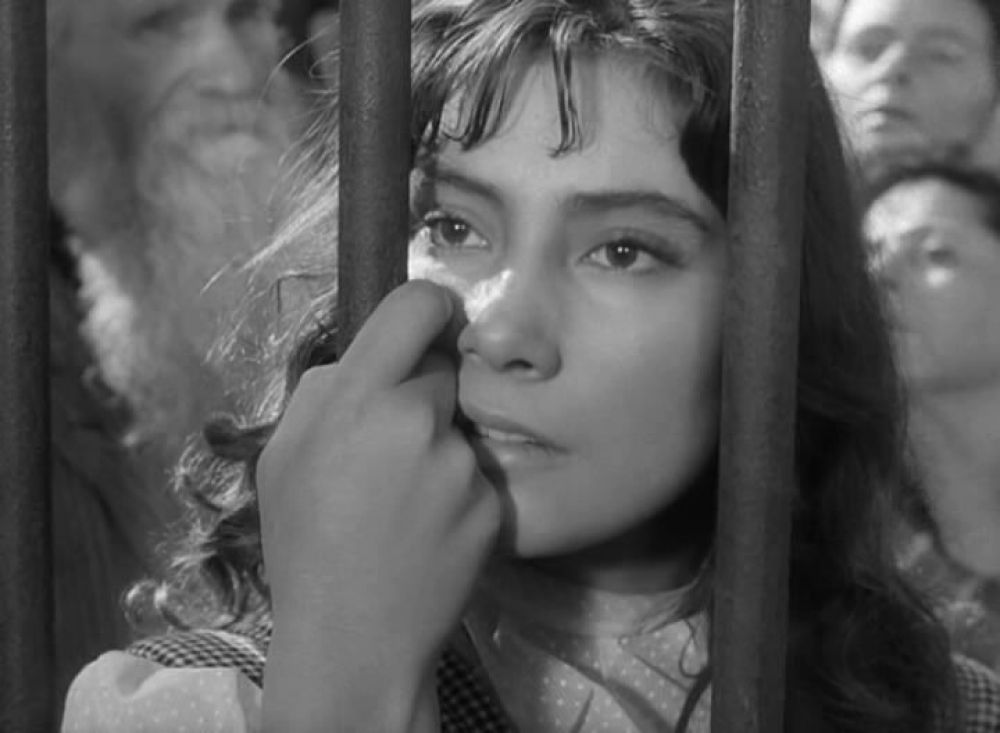 Актриса Татьяна Самойлова в роли Вероники (1957 год)
