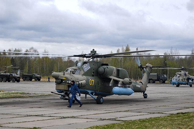 Ударный вертолет Ми-28Н «Ночной охотник».