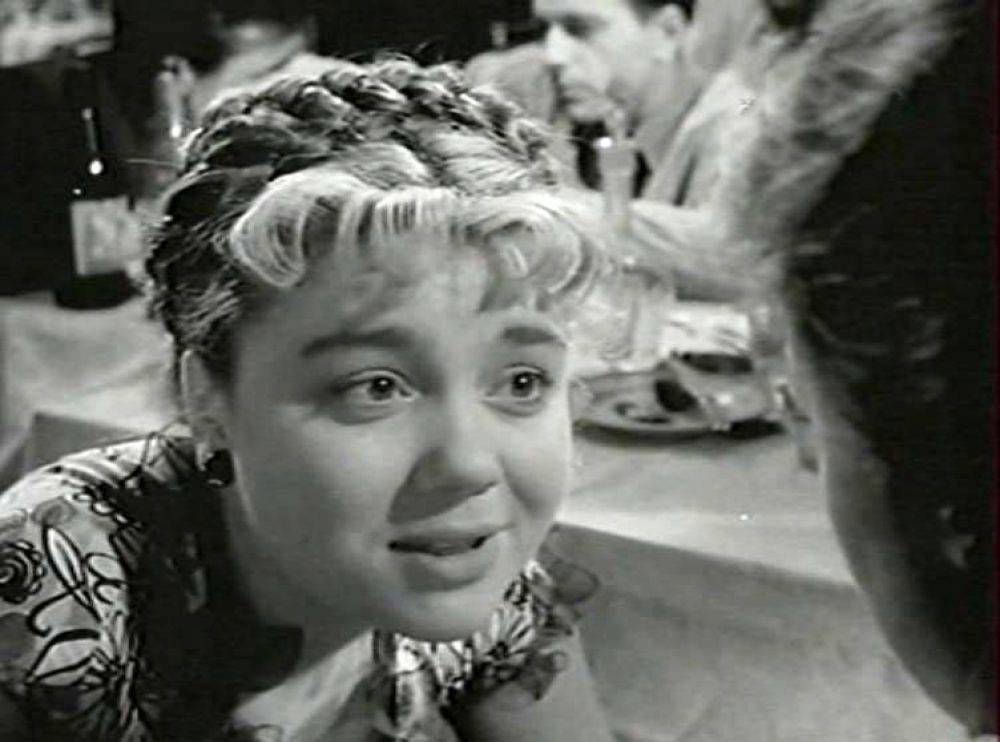 Актриса Нина Дорошина в роли Симы (1956 год)