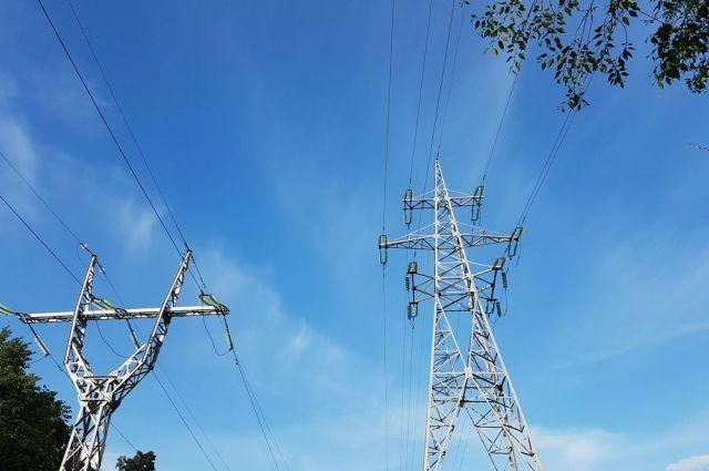 Произошла серьёзная авария на линии электропередач.