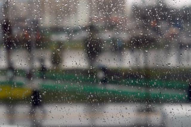 Ночью в восточных районах был сильный дождь с грозой