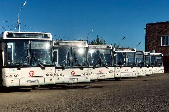 Транспорт городу передало правительство Москвы.