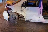 Убегал от полиции: во Львове нетрезвый водитель устроил ДТП