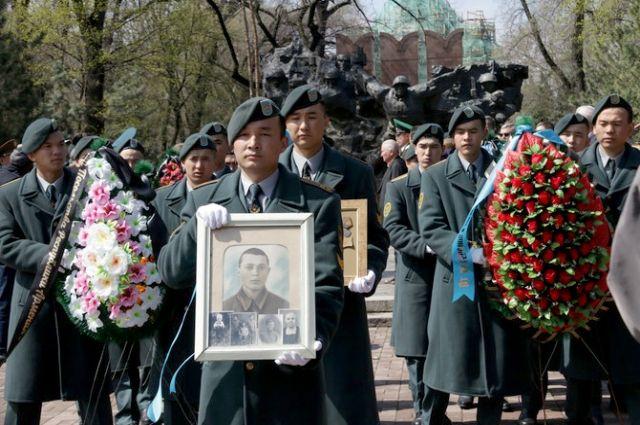 Андрея Нагайцева захоронили с почестями спустя 74 года после гибели.