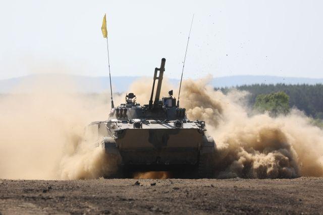 БМП-3 на трассе «Суворовского натиска».